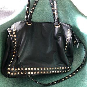 Studded purse